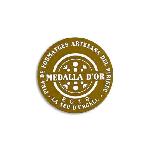 Medalla d'or Fira de formatges artesanals del Pirineu 2019